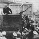 ロシア革命 その1 ロシア革命の目的は、第1次世界大戦から撤退することでした。
