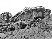 ソンムの戦い 戦い初日でイギリス軍は、戦死者19,240名、負傷者57,470名の損害を出してしまいました。