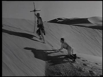 中東の砂漠でパトロールに出たイギリス軍は 映画 肉弾鬼中隊