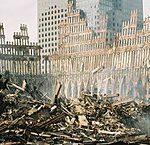ビルの崩壊の時、4人の警察官が生き埋めになりました。「映画」 ワールド・トレード・センター