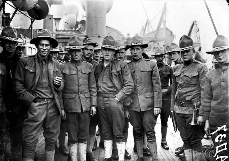 第1次世界大戦 1917年 アメリカ...