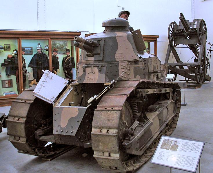 第1次世界大戦の戦車 その2 フランス・ドイツ編