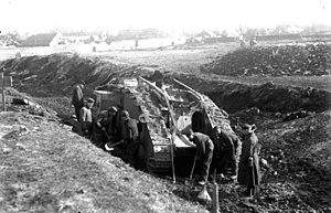 解説「カンブレーの戦い」 戦車を使用してヒンデンブルク(ジークフリート)線の突破に成功した戦い