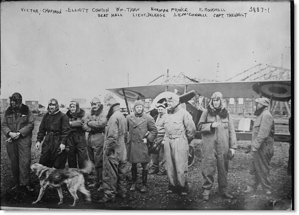 映画 「フライボーイズ」アメリカ参戦前に、フランス外人部隊内に作られた、アメリカ人有志による航空部隊のお話